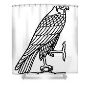 Egyptian Symbol: Falcon Shower Curtain
