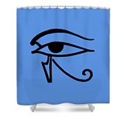 Egyptian Utchat Shower Curtain