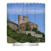 Ehrenfels Castle Squared 02 Shower Curtain