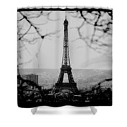 Eiffel Eyeful Shower Curtain