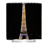 Eiffel Tour 2 Shower Curtain