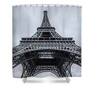 Eiffel Tower 3 Shower Curtain
