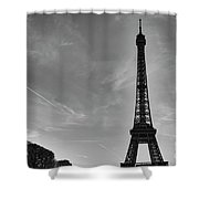 Eiffel Tower-4 Shower Curtain