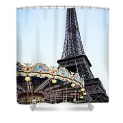 Eiffel Tower 7 Shower Curtain