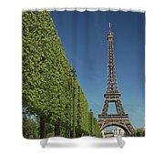 Eiffel Tower-9 Shower Curtain