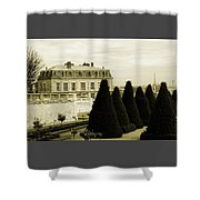 Eiffel Tower From St Cloud Shower Curtain
