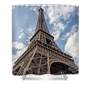 Eiffel Tower In Paris Shower Curtain