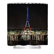 Eiffel Towers Shower Curtain