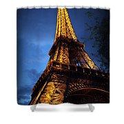 Eiffel's Magic Shower Curtain