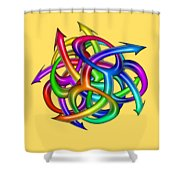 Eight Knights Of Pride Shower Curtain