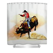 Eight Second Shift Shower Curtain
