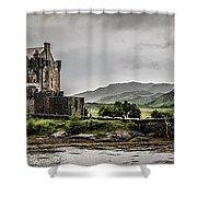 A Bonnie Wee Castle Shower Curtain
