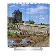 Eilean Donan Castle In Scotland Shower Curtain