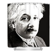 Einstein Shower Curtain
