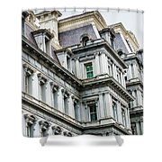 Eisenhower Building Shower Curtain