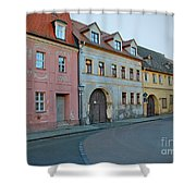 Eisleben At Dusk Shower Curtain