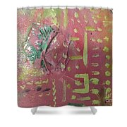 Eji Ogbe Shower Curtain