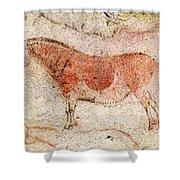 Ekain Cave Horse 2 Shower Curtain