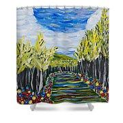 El Camino - Primavera - The Path - Spring Shower Curtain