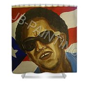 El Cantantr Shower Curtain