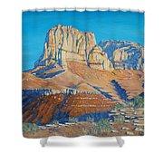 El Capitan At The Guadalupe Peaks Shower Curtain