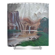 El Capitan Falls Shower Curtain
