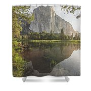 El Capitan In Reflection Shower Curtain