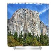 El Capitan In Yosemite National Park Shower Curtain