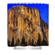 El Capitan Mountain Shower Curtain