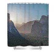 El Capitan Sunburst Shower Curtain