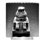 El Caracol Observatory Shower Curtain