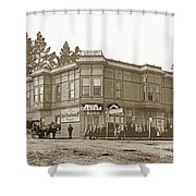 El Carmelo Bakery Lighthouse And Forest Ave. Circa 1890 Shower Curtain