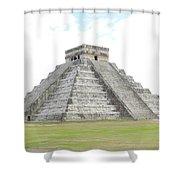El Castillo Shower Curtain
