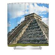 El Castillo Of Chichen Itza Shower Curtain