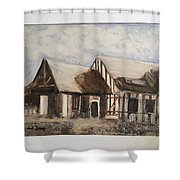 El Country  Shower Curtain