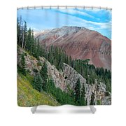 El Diente Peak Shower Curtain