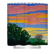 El Dorado Afternoon Shower Curtain