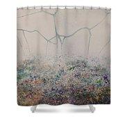 El Genio Curioso 1 Shower Curtain