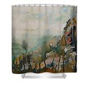 El Genio Curioso 9 Shower Curtain