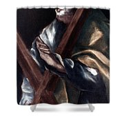 El Greco: St. Andrew Shower Curtain