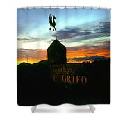 El Grifo Shower Curtain