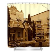 El Paisano Hotel In Marfa Texas Shower Curtain