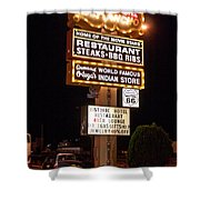 El Rancho Hotel, Nm Shower Curtain