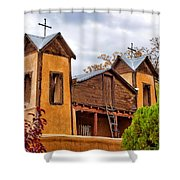 El Santuario De Chimayo Study 1 Shower Curtain