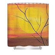 el Sol en Pleno Otono Shower Curtain