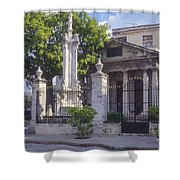 El Templete Shower Curtain