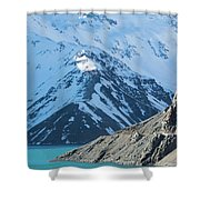 El Yeso Dam Shower Curtain