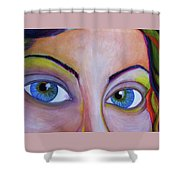 Ela - Face Shower Curtain