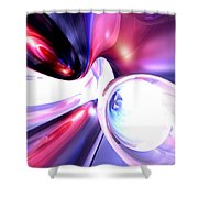 Elation Abstract Shower Curtain