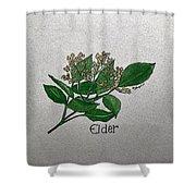 Elder Shower Curtain